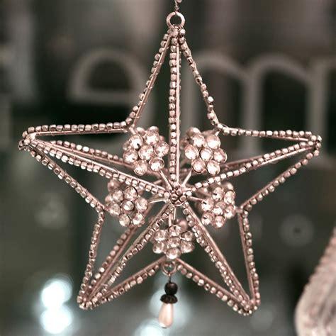 Weihnachtssterne Aus Perlen Basteln Anleitung by Charme De Provence Weihnachtsstern Mit Perlen