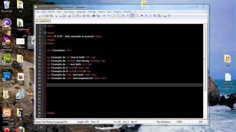 tutorial gimp in limba romana tutorial html in limba romana 2 formatare text youtube