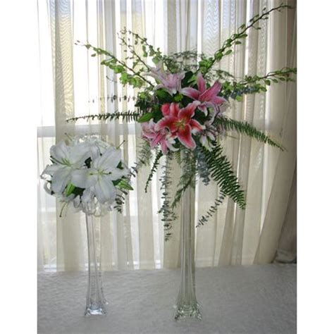 Eiffel Tower Flower Vases by Floral Arrangement Exle Glass Eiffel Tower Vase With