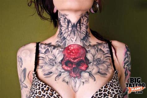 butterfly tattoo throat butterfly skull flowers tattoo pinterest
