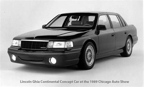 how to learn about cars 1989 lincoln continental mark vii regenerative braking concept vehicle concept car history chicago auto show