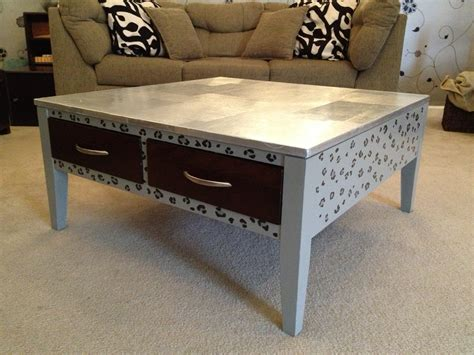 Diy Aluminum Foil Coffee Table Top Kelly Gene Diy Coffee Table Top