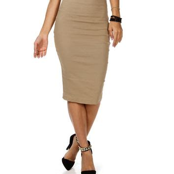 Hw Highwaist Mocca mocha high waisted pencil skirt from my wishlist