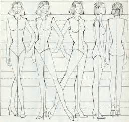 Sketch Design Online Figure Drawing For Fashion On Pinterest Fashion Figures