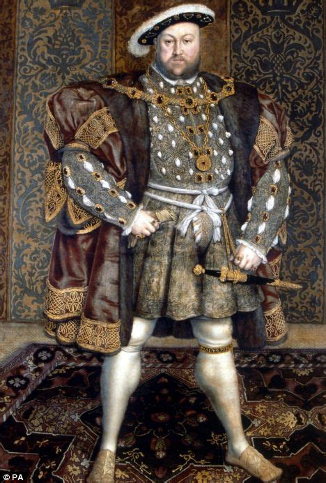 tudor king king size henry viii s armour reveals he had a 52in girth