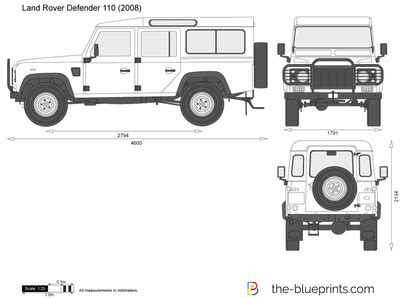land rover defender vector land rover defender 110 vector drawing