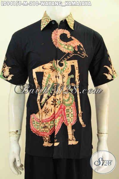 Hem Kemeja Pria Batik Wayang by Hem Batik Pria Paling Keren Kemeja Batik Tulis Halus