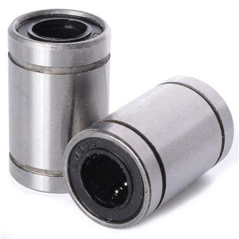 Lm8uu Linear Bushing 8mm Cnc Linear Bearings 12pcs linear bearings lm8uu 8mm 15 24 reprap 3d printer prusa mendel cnc te249