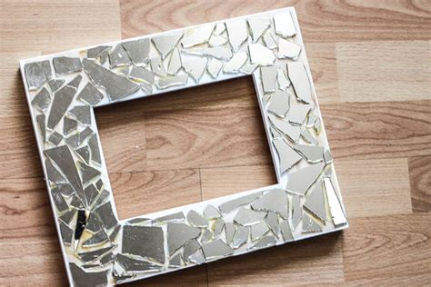 The Little Store Of Home Decor Diy Mosaic Mirror Picture Frames Tutorial