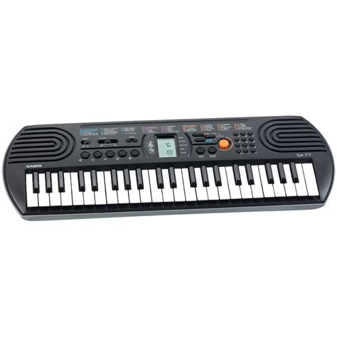 Casio Keyboard Mini Sa 77 elektronisch keyboard casio sa 77 intertoys