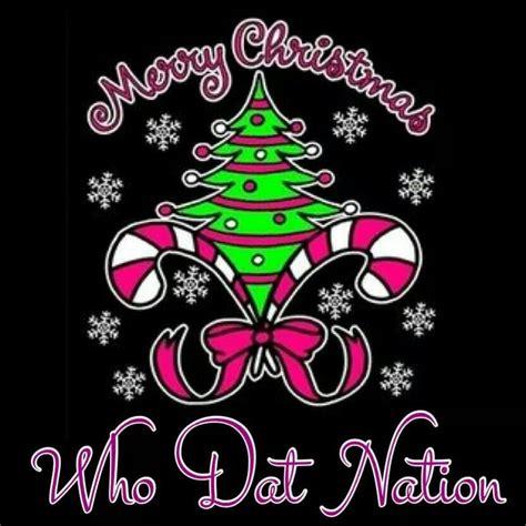 merry christmas  dat nation love  saints  dat pinterest merry christmas
