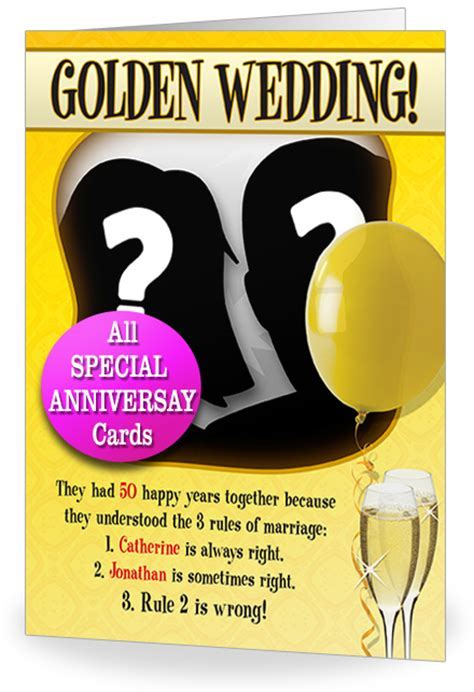 50th Wedding Anniversary Quotes Funny. QuotesGram