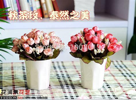 Am046 Limited Bunga Plastik Hias awal teh meimei bunga palsu bunga plastik ruang tamu hias