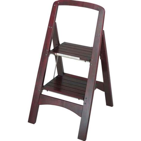 cosco folding wood step stool cosco rockford wooden step stool colonialmedical