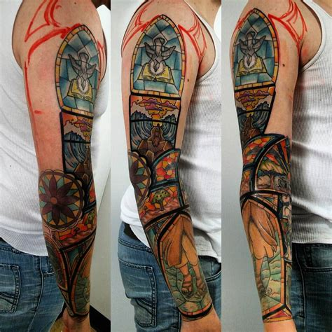 stained glass cross tattoo 75 dazzling stained glass ideas nothing less than