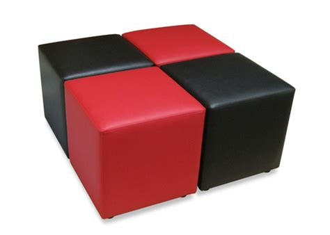 soft ottoman cube cube ottomans hospitality furniture archer concepts