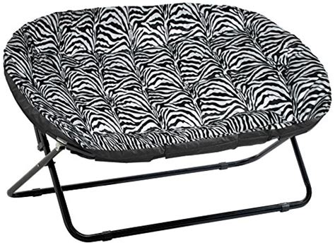 Saucer Chair For Adults by Shop Saucer Chair Zebra Royal Plush