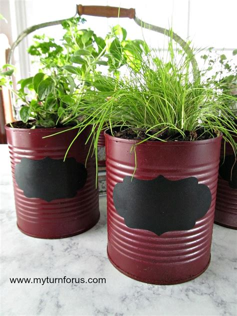 easy  inexpensive diy indoor herb garden kit  turn