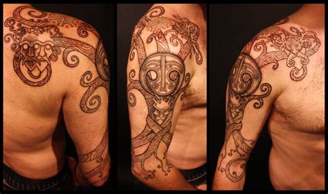 russian tribal tattoos slavic inspired designs slavorum