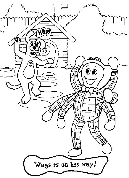 Wiggles Coloring Pages Coloring Home Wiggles Pictures To Print