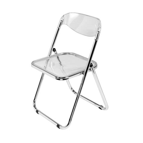 Folding Lucite Chairs - lucite folding chair rental trade show furniture rental