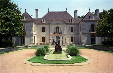 Dallas Texas French Chateau Home Photograph 4540 Dallas Home Design