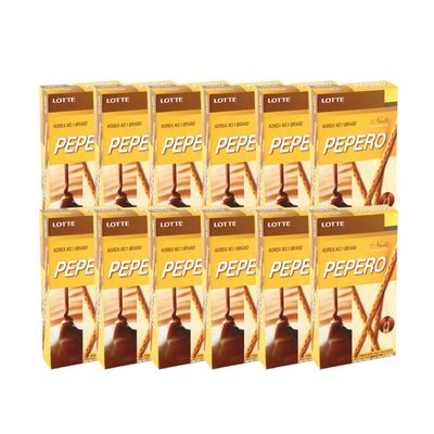 Lotte Pepero Korea No 1 Brand lotte pepero packs 50g 12 packs 8801062267699 go shop