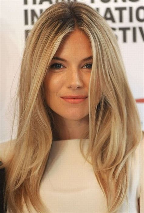 blonde haircuts and styles sienna miller hair style blonde straight hair popular
