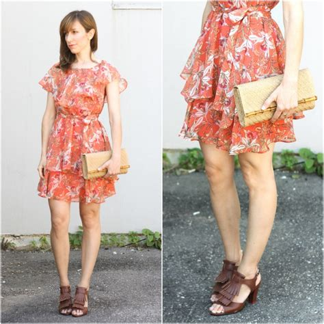 5 favorite color shoes to wear with an orange dress