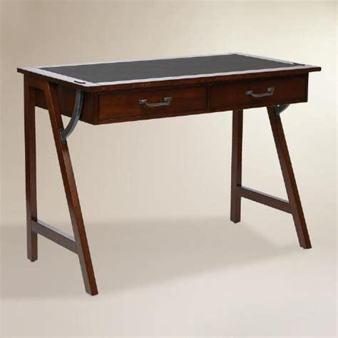 small wood writing desk wood darcel writing desk world market