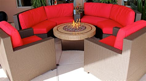 patio furniture sets with pit patio furniture sets with propane pit home citizen