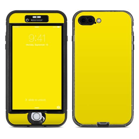 lifeproof iphone 7 plus nuud skin solid state yellow by solid colors decalgirl