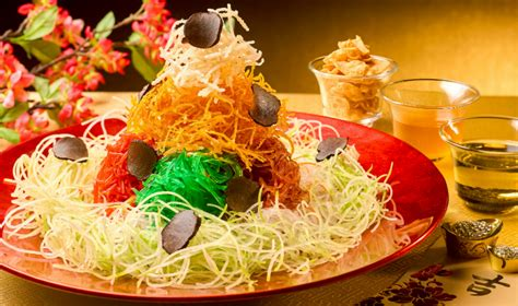wan hao new year menu 2015 yu sheng in singapore unique renditions of the