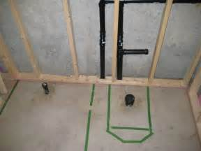 Bathroom Rough In Layout Why Is It Best To Hire A Contractor For Basement Plumbing