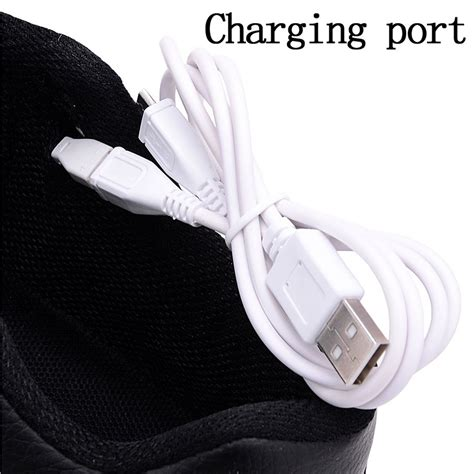 how to charge light up shoes usb charging led light up shoes sneakers black