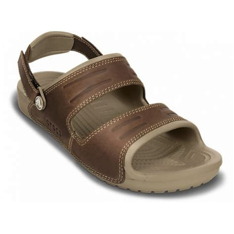 croc sandals crocs crocs yukon 2 khaki espresso ux2 14325 23g