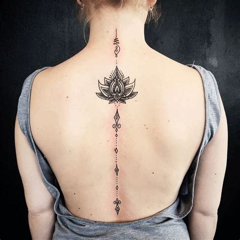 small spine tattoos spine tattoos for designs ideas and meaning