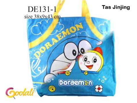Tas Bekal Doraemon tas bag aksesoris botol minum tumbler mug mangkuk