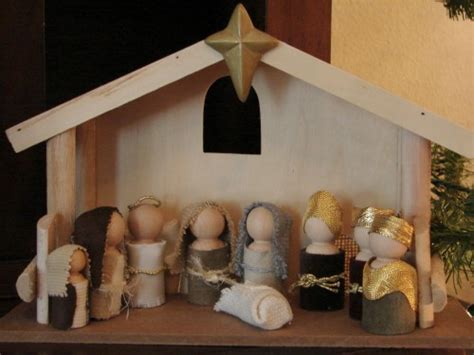 wooden nativity scene plans diy  plans