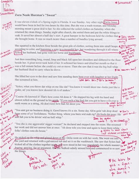 sadberry brandon how to annotate a text