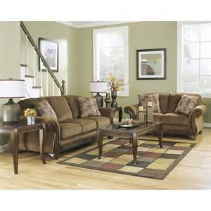 Home Design Outlet Center Reviews by Ashley 38300 Montgomery Mocha Sofa Amp Loveseat