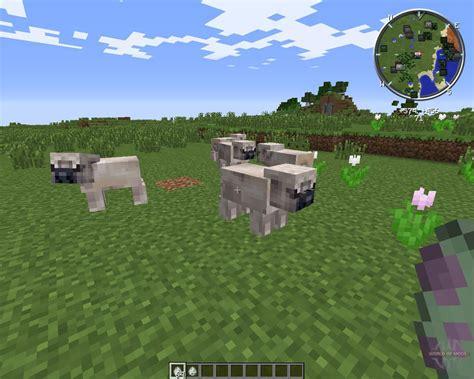pugs in minecraft pug for minecraft