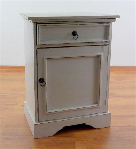 Handmade Bedside Tables - rustic bedside table handmade cupboard from bali asia