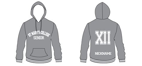 desain jaket motor polos st marys senior high school year 12 jumper design mock up