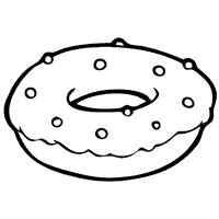 sprinkle donut coloring page donut coloring pages donut with sprinkles free kids