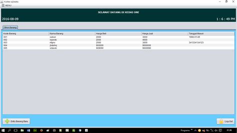 kumpulan tutorial java netbeans download sourcecode java netbeans aplikasi penjualan