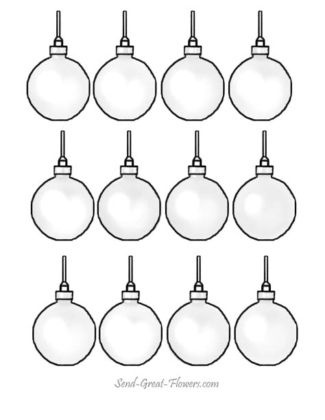 printable small ornaments christmas ornament coloring pages printable christmas