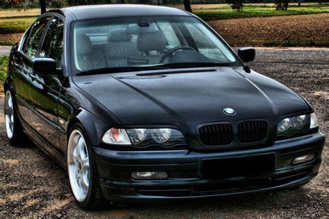 Cornerl Bmw 3 Series E46 1998 2001 Black E Berkualitas bmw 3 series 1998 2001 e46 4 door sedan matte black front