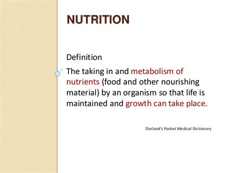 protein definition nutrition nutrition in surgery