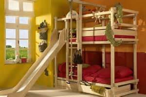 Childrens Bunk Bed With Slide Bespoke Bunk Bed With Slide Cots Of Distinction